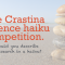 The Crastina science haiku competition