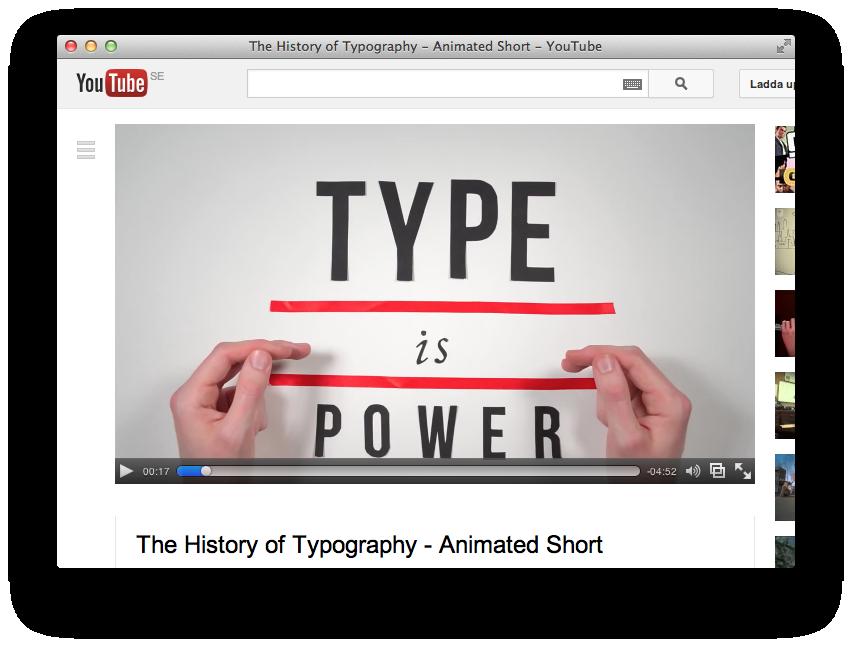 typeispower
